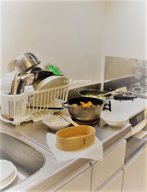 今朝の台所