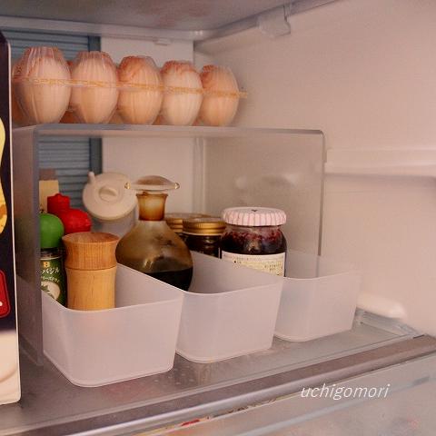 無印トレー冷蔵庫