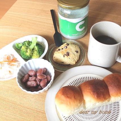 自分朝ごはん
