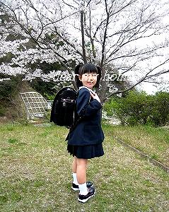 ユウさん入学式