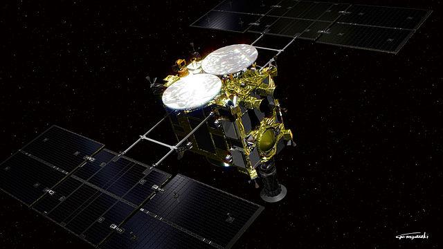小惑星探査機_はやぶさ2_CGモデル
