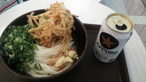 羽田空港うどん2