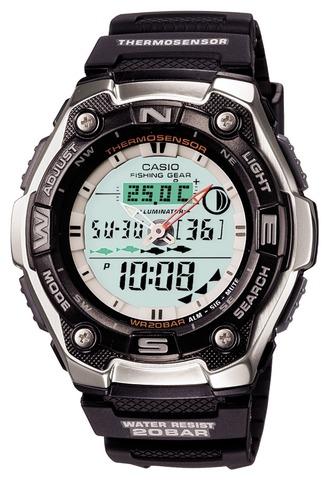 SUPフィッシング用の腕時計[AQW-101J-1AJF]