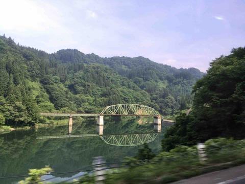 2018年・夏 青春18きっぷの旅� 只見線代行バス