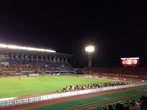 Jリーグ 2ndステージ 第12節 名古屋グランパスvsヴィッセル神戸
