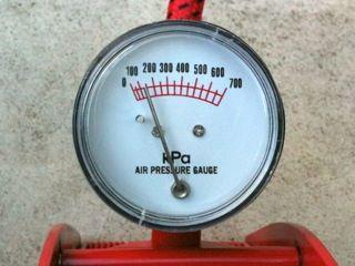 ヴォーグSPの空気圧チェック