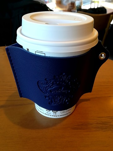 オロビアンコのコーヒーカップスリーブ(DIME 付録)