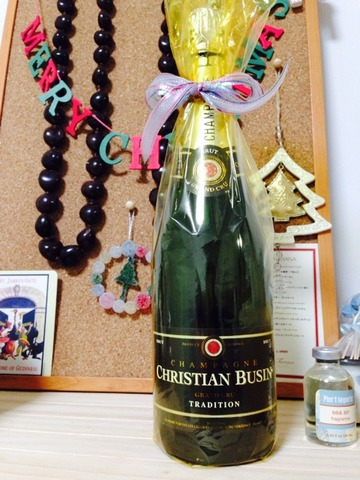 おせち料理に合うシャンパン「ブザン ブリュット」