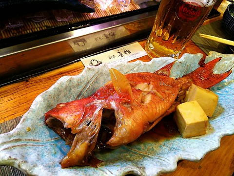 沖縄の最高級魚 赤仁ミーバイ