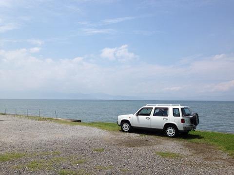 琵琶湖でハス釣り
