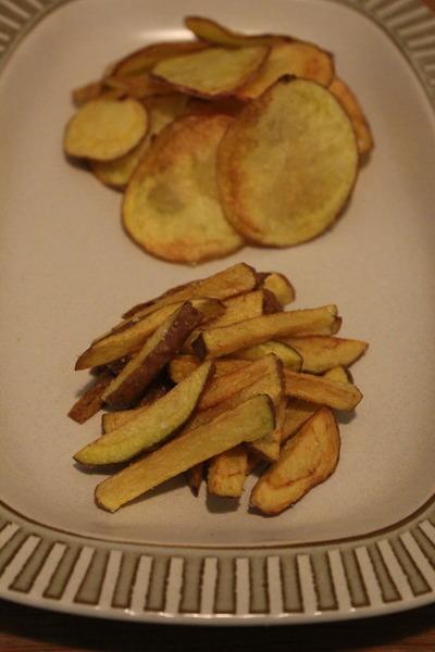 アンデス芋のフライ&チップス
