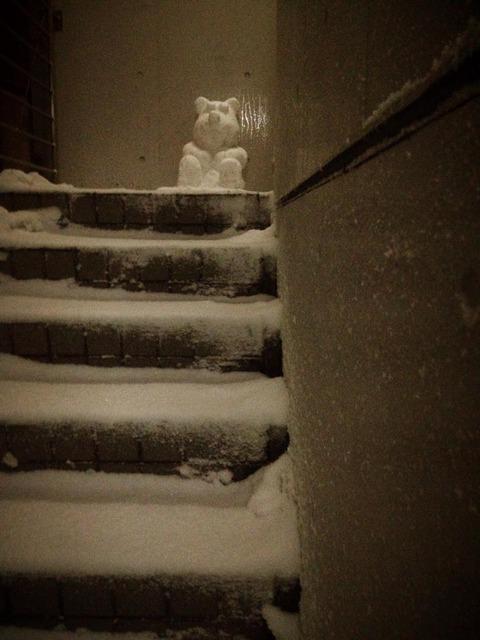 雪熊だるま