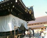 靖国神社メイン 左から