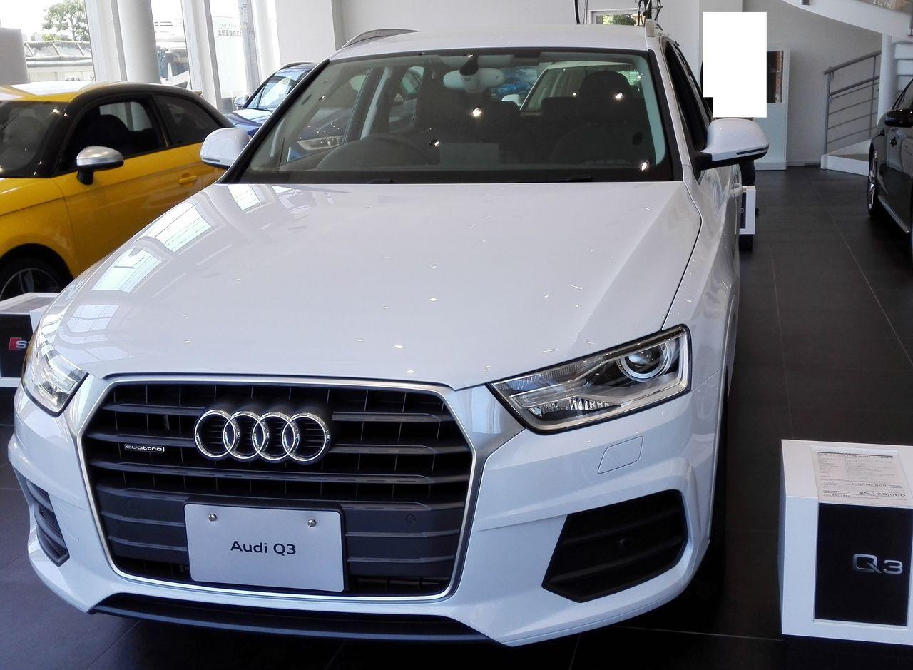 IMG_20150530_111035 展示車はAUDI Q3 ...