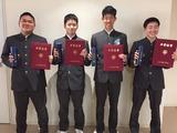 中学卒業式2