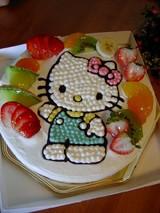 キティーちゃんケーキ