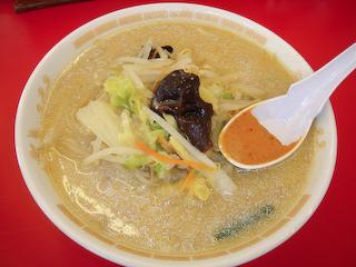 「東雲亭」味噌ラーメン
