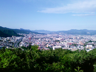 盃山からの眺め_南