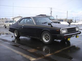 旧車スカイライン2000GTEX_前ビュー