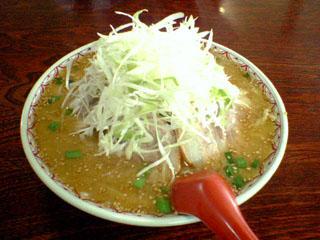 「リッキー」ごま味噌チャーシュー麺