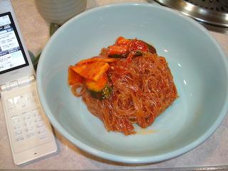 「ニュー韓一」ビビン冷麺