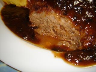 ハンバーグ肉汁