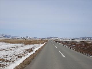 長瀞から村山への農道