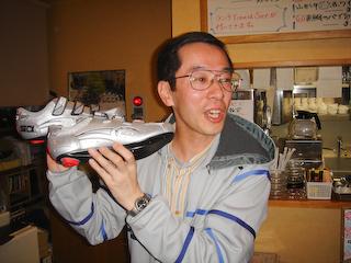 20090322ばせをさん送別会プレゼント