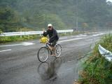 とうかいサイクリング秋篇3日目_雨中走行のユウヤ隊員