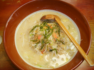 「仙台味噌タンメン寅や」味噌タンメン