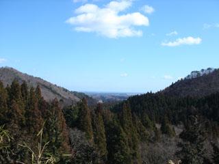 20070224旗巻峠から見える太平洋
