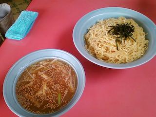 「ラーメンショップ七浦店」つけ麺