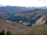 20090424鍋越峠ツーリング_銀山温泉を望む