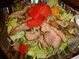 「一艸亭」ローストビーフのサラダ