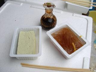 20070630後藤豆腐店とうふ&ところてん