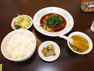 20100406「竹林坊」紅焼三扒