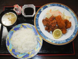 「季分屋」若鶏のから揚げ&イカフライ