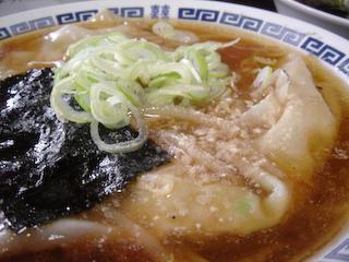エビのジャンボワンタンあんかけ麺UP1