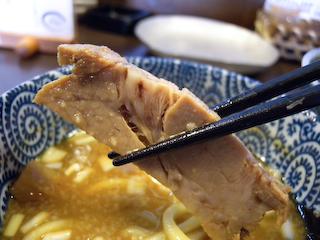 「ぬーぼう」ガッツリ極太つけ麺チャーシューUP