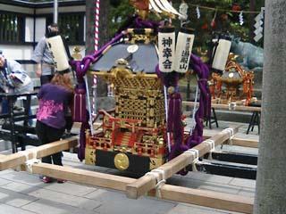 湯殿山神社お神輿