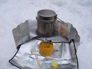 20061217月山スノーシュー_コッヘル