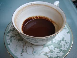 トルココーヒーafter