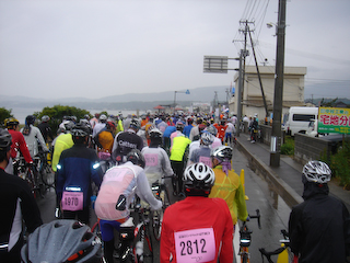 2009佐渡LRスタート前
