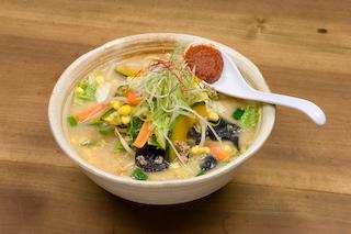 「ごま蔵」季節の野菜たっぷり味噌ラーメン