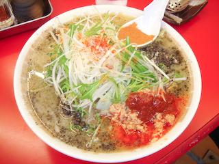 「東雲亭」ピリ辛ネギ味噌ラーメン