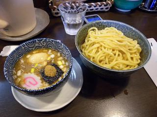 「ぬーぼう」ガッツリ極太つけ麺