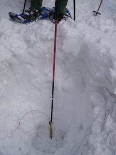 積雪量4m10cm