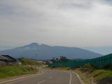 とうかいサイクリング秋篇2日目_由利海岸からの鳥海山
