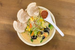 「ごま蔵」季節の野菜たっぷり味噌チャーシューメン