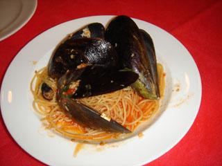 ムール貝のトマトソース
